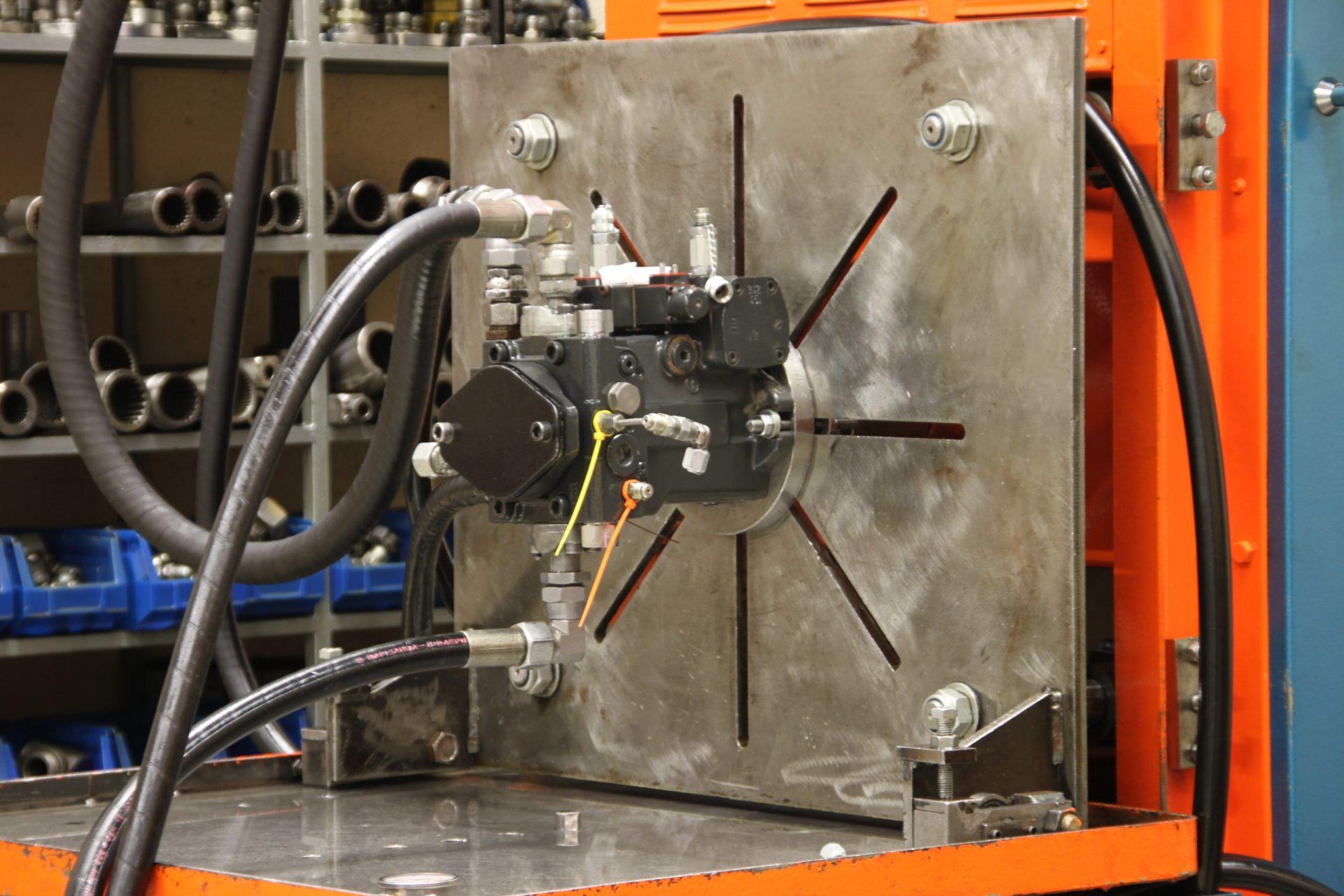 Banc d'essais-moteurs-pompes - Hydro Rénovation Quimper
